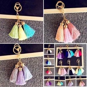 Accessories - [LOT OF 3] Fashion Tassel Keychain